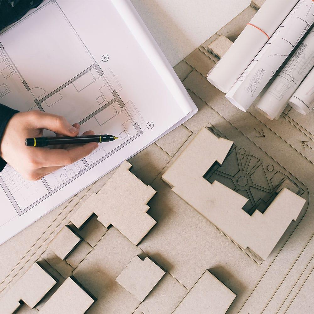architekt planung 3d zeichung eigentraum