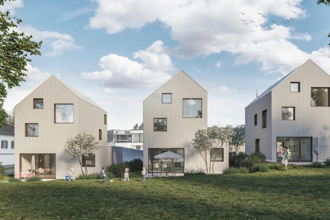 Eigenheim Rickenbach Eigentraum Immobilie Gartenansicht